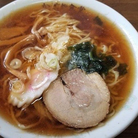 「ラーメン ¥550」@かどや食堂の写真