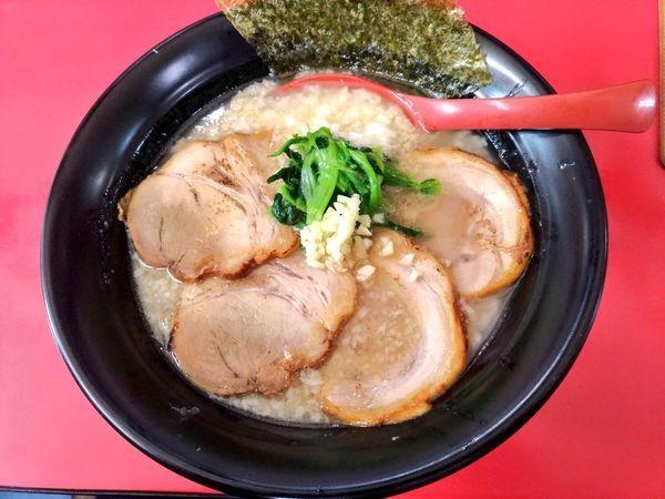 「期間限定 背脂肉白湯麺」@和風らーめん はるやの写真
