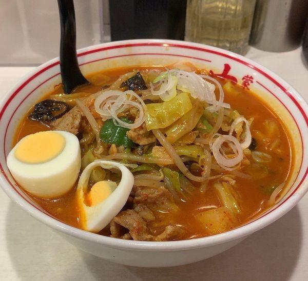 「五目味噌タンメン」@蒙古タンメン 中本 御徒町店の写真