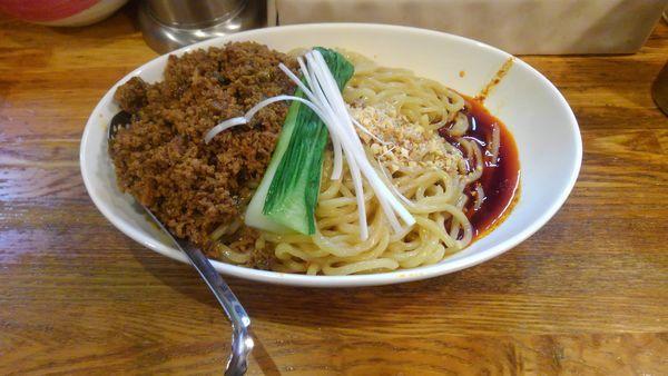 「成都式担々麺(汁なし)大盛」@Dandan spicy noodlesの写真