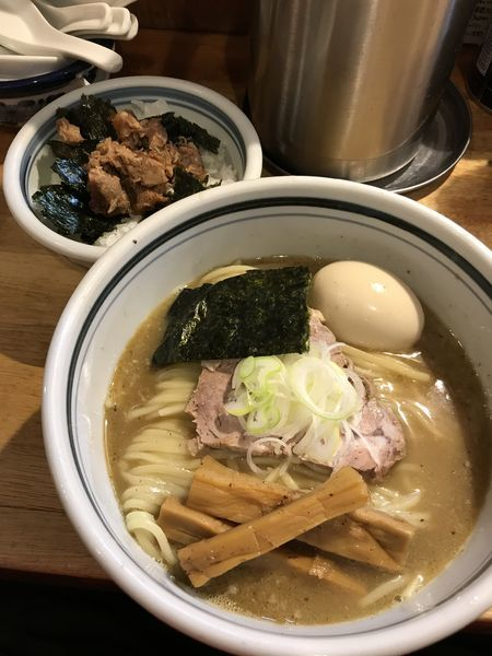「味玉チャーシュー御飯セット」@こうかいぼうの写真