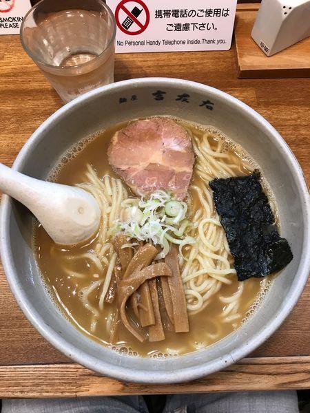 「大盛りらーめん(麺300g) 890円」@麺屋吉左右の写真