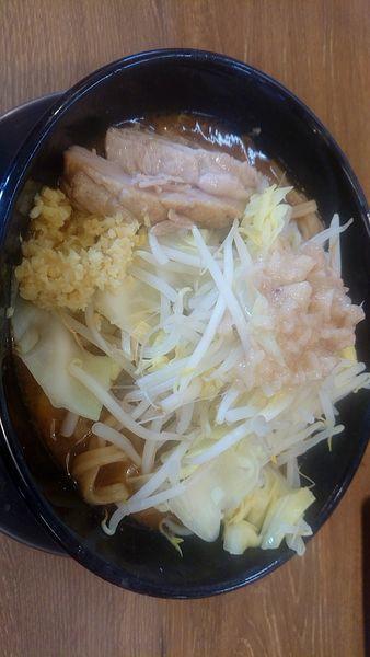 「味噌ラーメン (並) 780円」@ジャンクガレッジ 深谷店の写真