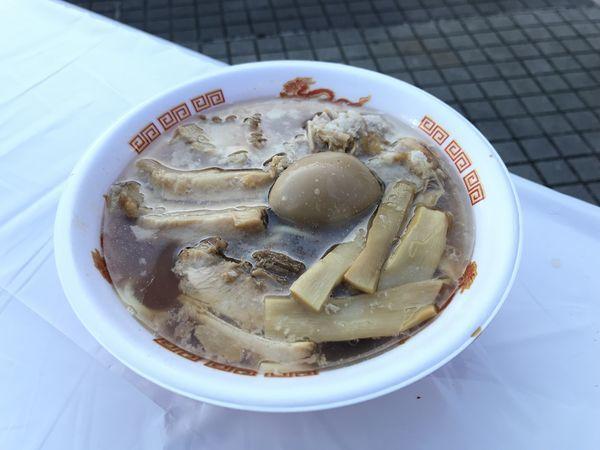 「肉煮干そば」@名古屋ラーメンまつり2019の写真
