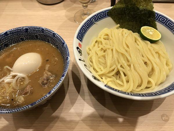 「ほぐし豚つけ麺」@つじ田 池袋西口店の写真
