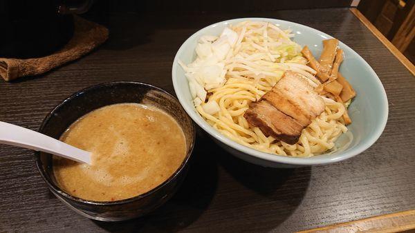 「味噌つけ麺(濃厚豚骨)大盛り」@三鷹食堂いなりの写真