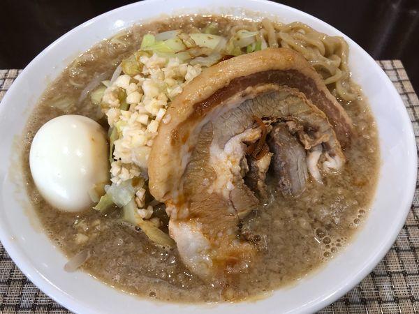 「銀二郎系ラーメン800円」@麺屋 銀二の写真