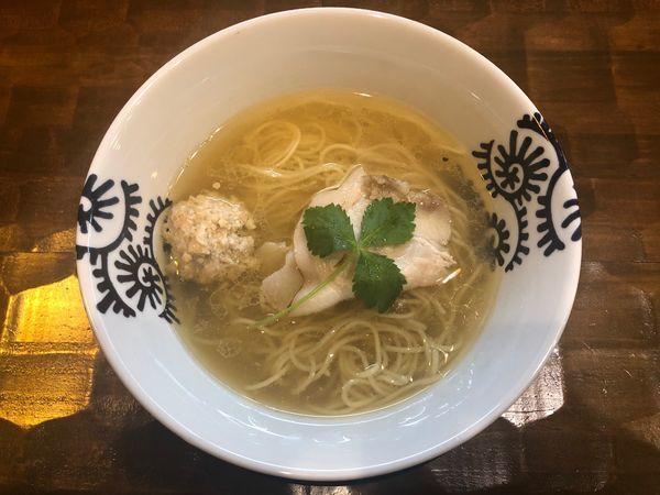 「天草大王100%白醤油拉麺」@特級中華蕎麦 洋介の写真
