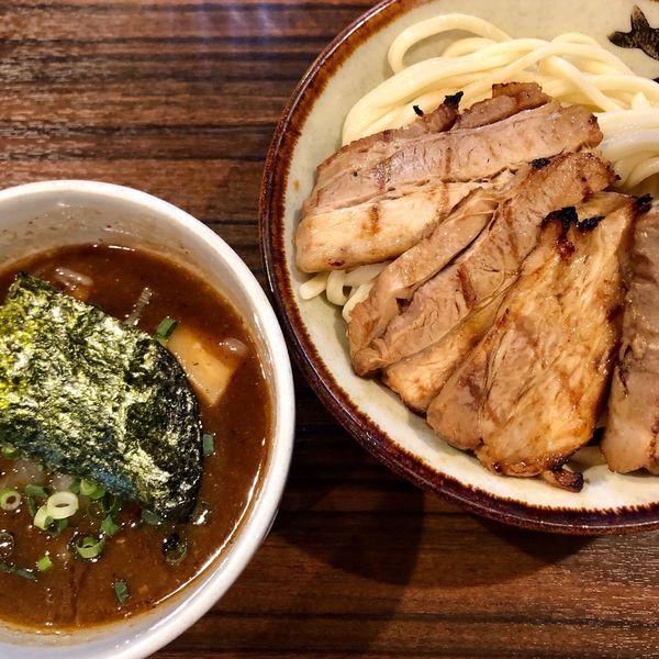 「炙りチャーシューつけ麺 (950円)」@麺歩 バガボンドの写真