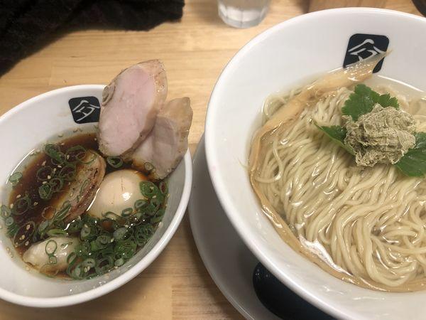 「特製鶏つけそば(1000円)」@中華そば 髙野の写真