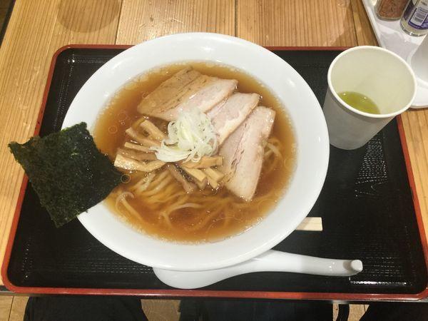 「中華そば(¥700)【うえんで食堂】」@日本橋ふくしま館 MIDETTE ミデッテの写真