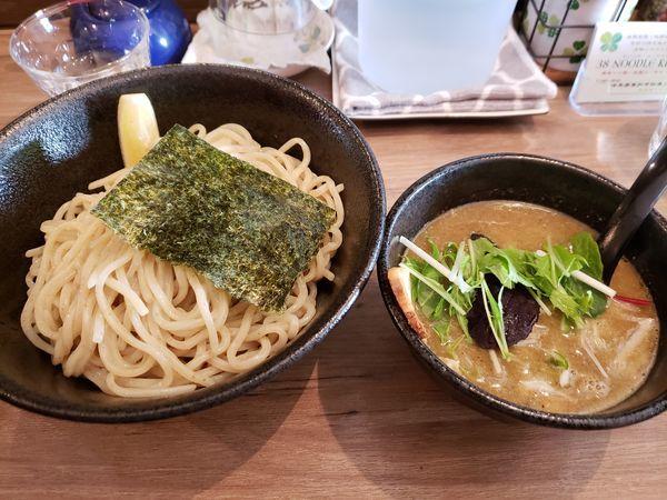 「つけ麺(中盛) 醤油」@38 NOODLE KITCHENの写真