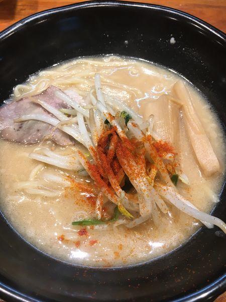 「濃厚味噌らーめん¥780」@味噌麺処 マメビシオの写真