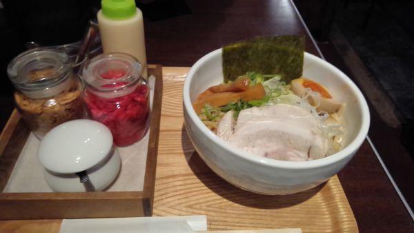 「まぜそば800円大盛無料」@麺屋 冽 -RETSU-の写真