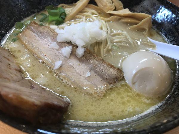 「とりそば味玉入り」@麺堂 稲葉の写真