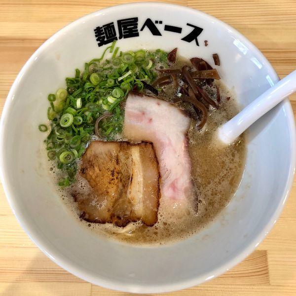 「豚骨ラーメン (700円)」@麺屋 ベースの写真