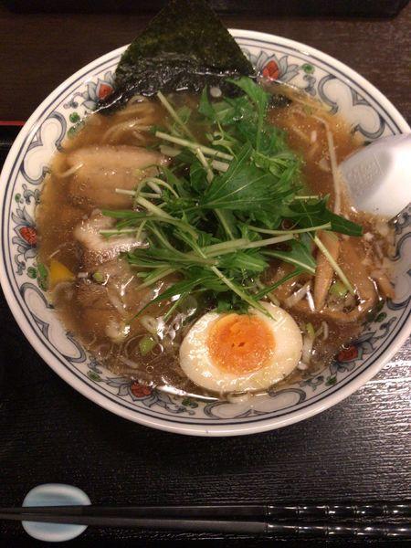「煮干しラーメン」@にぼらや 宇土店の写真
