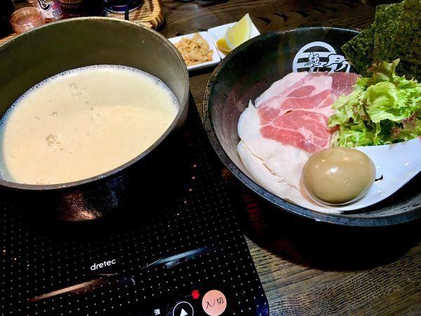 「濃厚鶏白湯つけ麺(塩)」@麺屋 時茂 西川口店の写真