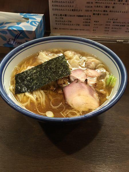 「わんたん麺」@麺屋 はやしまるの写真