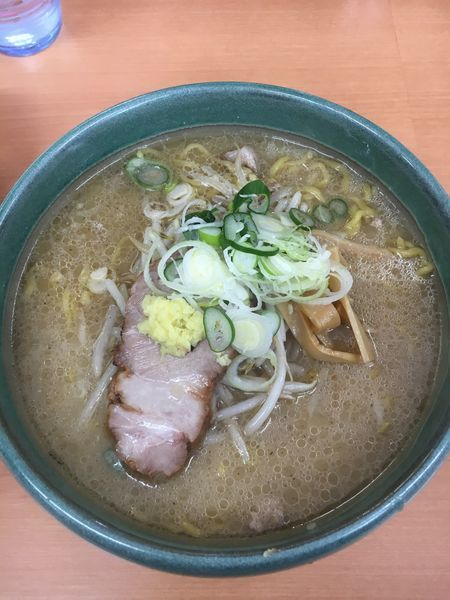 「味噌ラーメン ➕ ライス(中)」@麺屋 彩未の写真