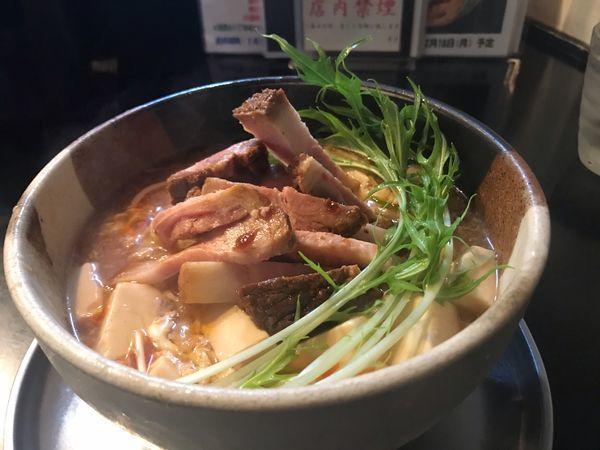 「酸辣湯麺 900円」@麺坊 炗の写真