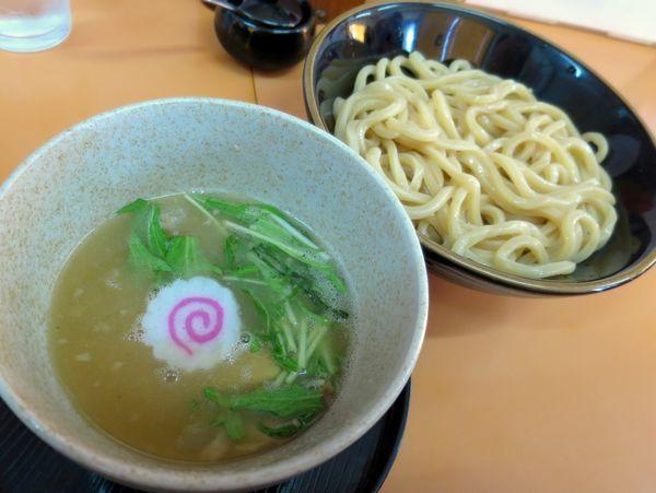 「塩つけめん 780円」@麺道 奉天の写真