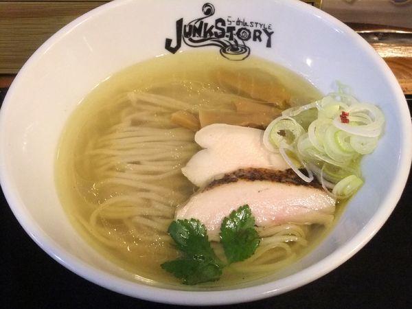 「塩のキラメキ(930円)」@らーめんstyle Junk Storyの写真
