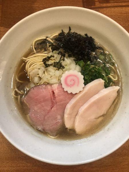 「特製煮干しそば」@麺屋 烈の写真
