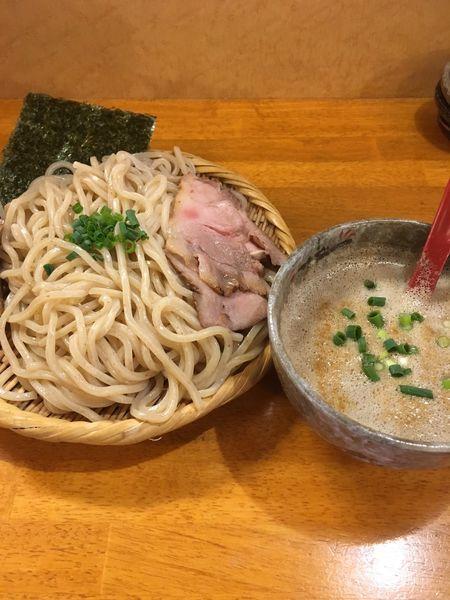 「秋刀魚の燻つけ麺大盛り (1000円)」@豚骨らーめん れんの写真