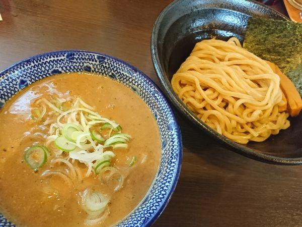 「つけ麺(並)」@つけ麺 弥七の写真