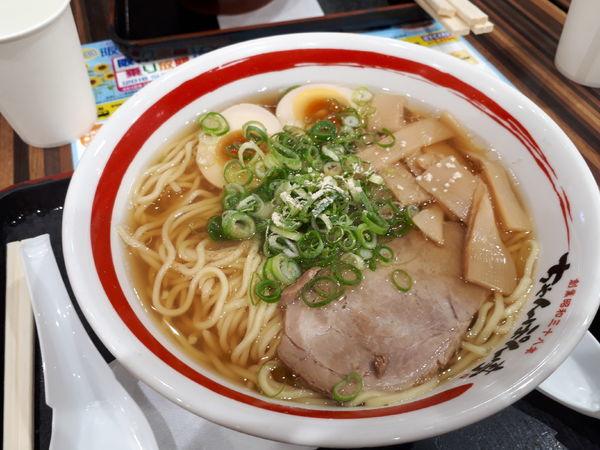 「醤油ラーメン」@ちゃんぽん亭総本家 甲賀土山SA店の写真