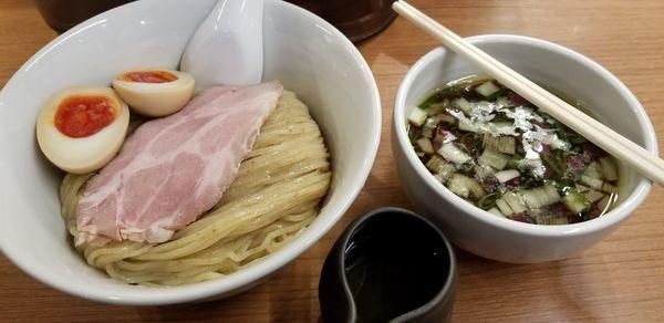 「つけ麺~濃厚昆布水添え~」@らぁ麺 時は麺なりの写真