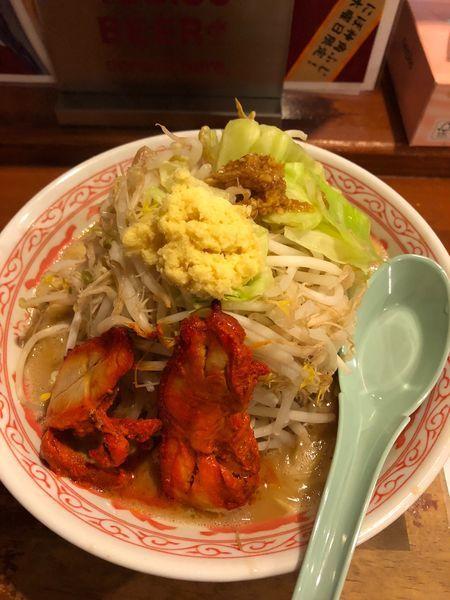 「タンチキふじ麺」@にぼ神 角ふじの写真