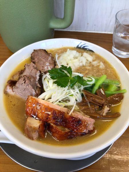 「空前の帆立ペーストスペシャル」@ラーメン専科 竹末食堂の写真