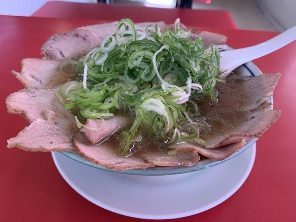 「チャーシュー麺醤油」@ラーメン天外 岐阜西店の写真