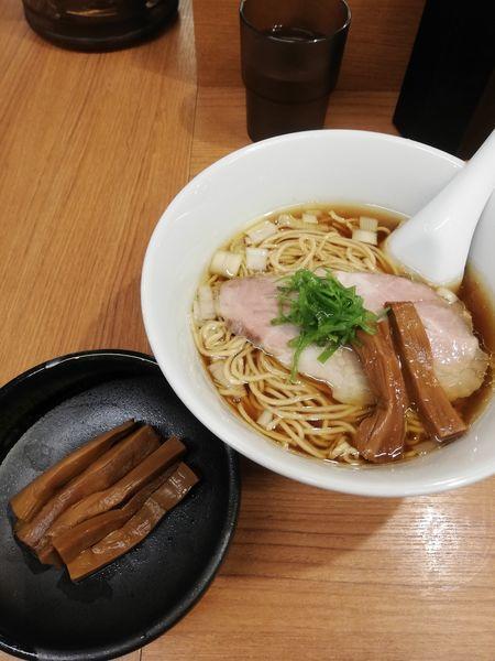 「らぁ麺750円メンマ100円」@らぁ麺 時は麺なりの写真