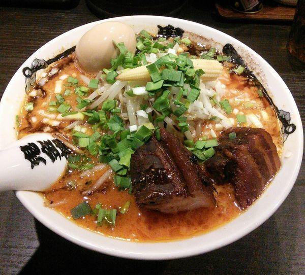 「特製カラシビ味噌らー麺 1180円」@カラシビ味噌らー麺 鬼金棒の写真