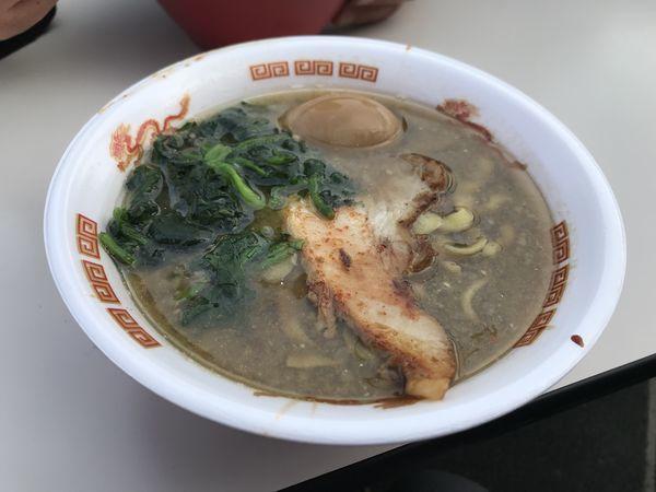 「すごい煮干ラーメン」@名古屋ラーメンまつり2019の写真