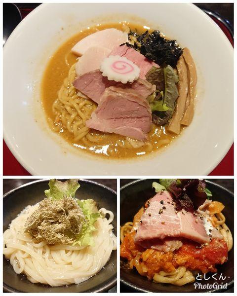 「【限定】あん肝と牡蠣の味噌そば 他」@鶏そば なんきち 東京店の写真