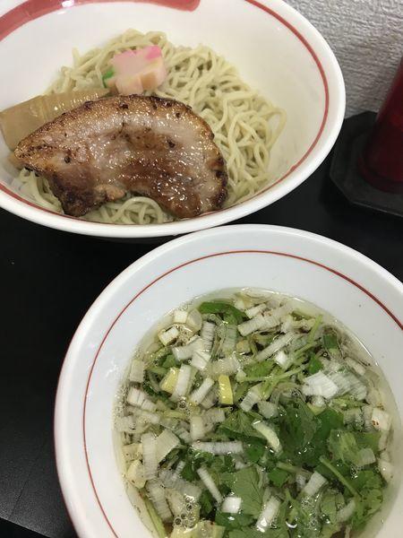 「アゴ出汁 つけ麺」@自家製麺SHINの写真