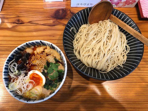 「辛味噌モツつけ麺+モツ増」@麺家 大森の写真