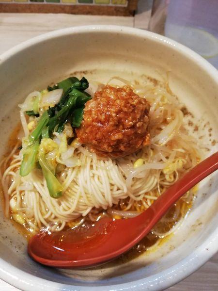 「汁なし担担麺」@めだかTANTANの写真