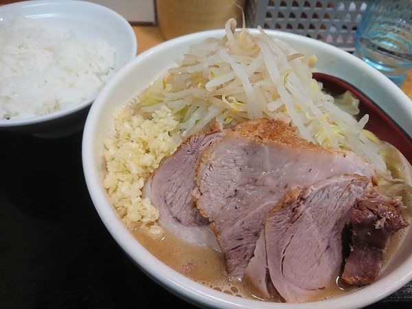 「限定  豚生姜ラーメン」@味噌麺処 花道の写真