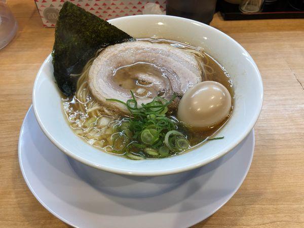 「味玉煮干醤油ラーメン」@麺屋 瑞風の写真