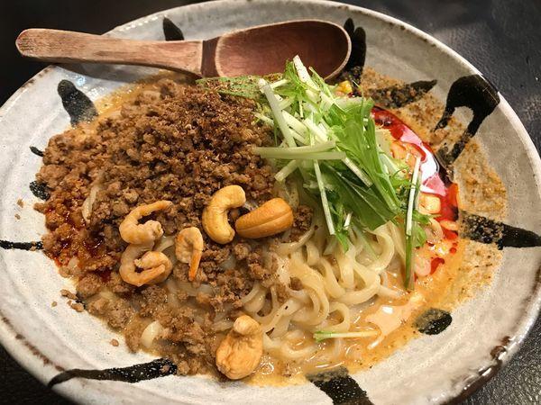 「汁なし担担麺 シビれる  800円」@175°DENO ~担担麺~の写真