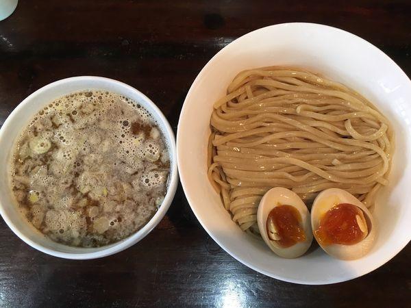 「醤油つけ麺」@らーめん 桐麺 本店の写真