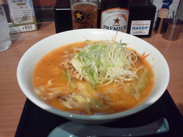 「味噌ラーメン 870円」@けやき 新千歳空港店の写真