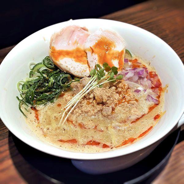 「担々麺(やや辛)」@ラーメン 徹信の写真