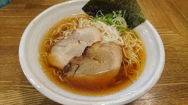 「豚そば 700円」@上海麺館の写真