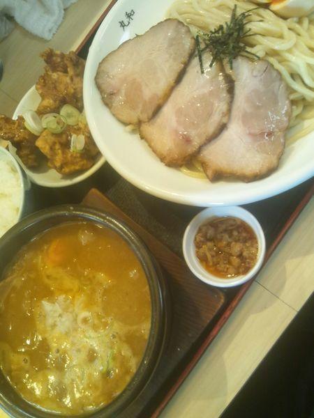 「丸和みそつけ麺(全部のせ)」@つけ麺丸和 各務原分店の写真